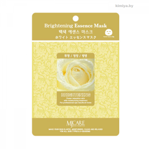 Тканевая маска осветляющая MIJIN Brightening Essence Mask (23г)